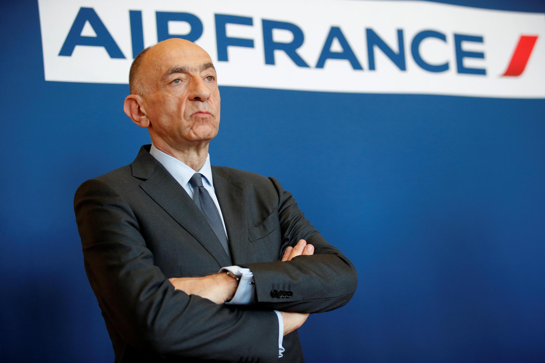 O CEO da Air France, Jean-Marc Janaillac, consultou diretamente os funcionários com uma proposta de acordo salarial