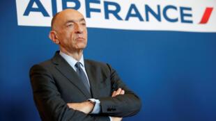 O patrão da Air France, Jean-Marc Janaillac, se demitiu nesta sexta-feira (4)
