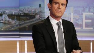 Manuel Valls sur TF1, le 2 avril 2013.