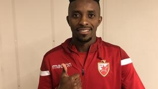 Jonathan Cafú joga atualmente pelo Estrela Vermelha, emprestado pelo Bordeaux.
