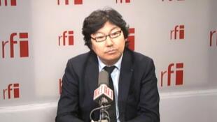 Jean-Vincent Placé, sénateur EELV de l'Essonne, président du groupe des écologistes au Sénat.