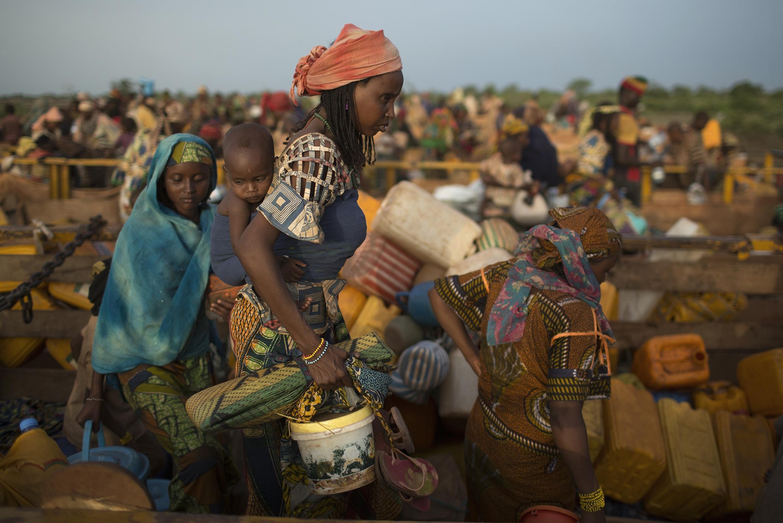 Près de 150 000 réfugiés ont traversé la frontière entre le Tchad et la Centrafrique, ces derniers mois.