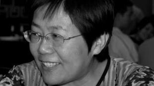 中国维权人士王荔蕻(网路图片)