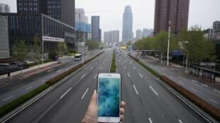 La ville fantôme de Wuhan pendant le confinement.