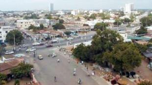 Une vue de Lomé, la capitale du Togo.