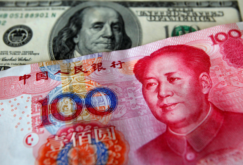 Đô la Mỹ và Nhân dân tệ Trung Quốc