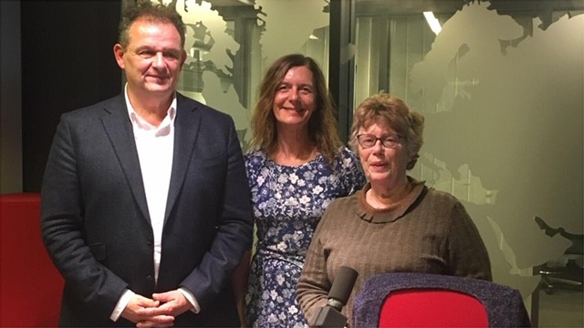Pierre Grosser, Valérie Nivelon et Jacqueline Dérens.