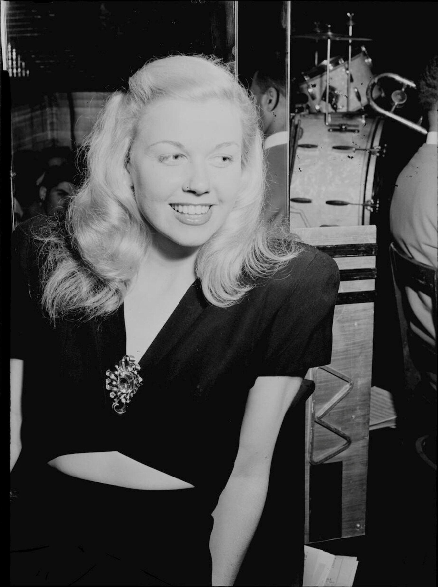 Diễn viên kiêm ca sĩ Doris Day tại New York năm 1946