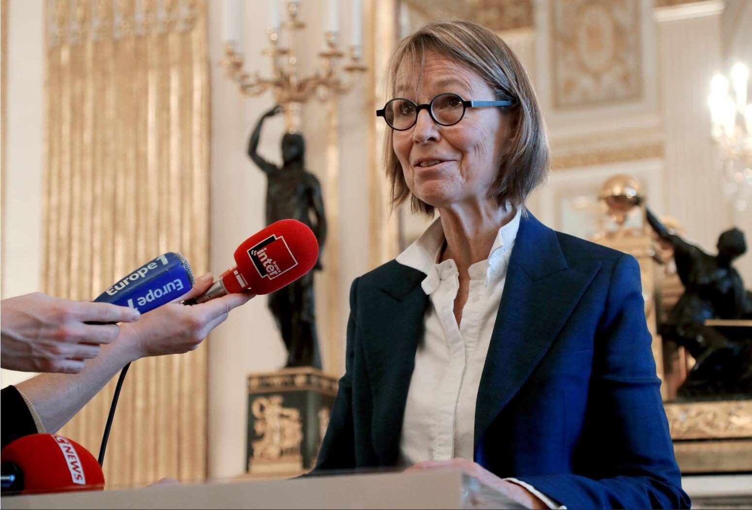 Министр культуры Франции Франсуаза Ниссен оказалась в центре скандала