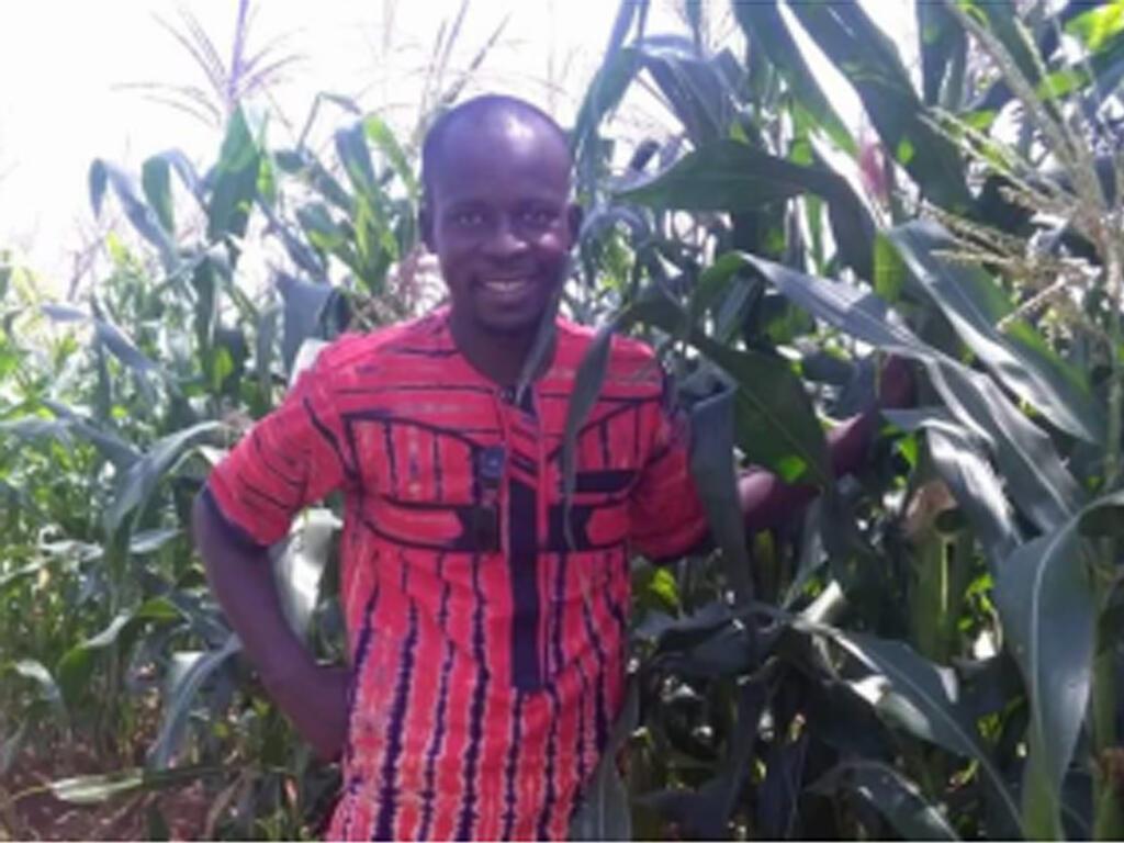 Amidou Samba, enseignant à Villa et coordinateur Slow food Burkina.