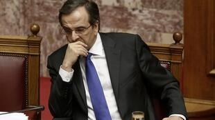 Avec la fermeture de l'ERT, le Premier ministre grec Antonis Samaras est contesté par une partie de son gouvernement.