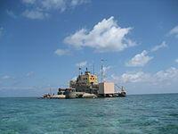Đảo Đá Nam, thuộc cụm Song Tử, quần đảo Trường Sa.