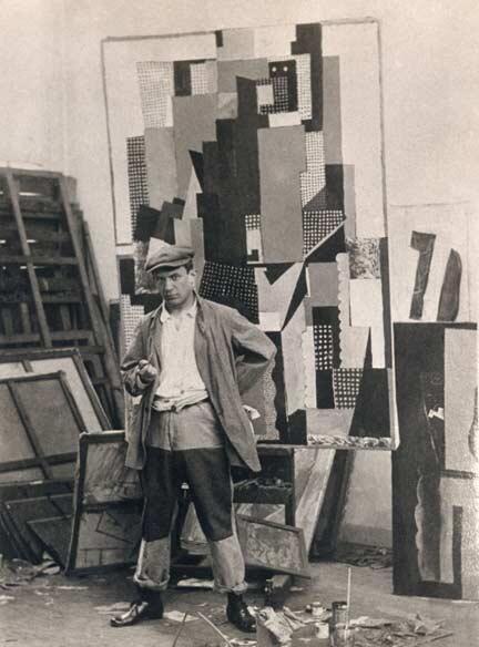 Auto-retrato de Pablo Picasso (obra produzida por volta de 1916).