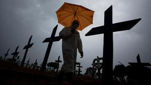 Cemitério em Manaus.