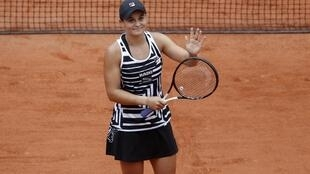 Ashleigh Barty reached the last eight at the Australian Open in January.