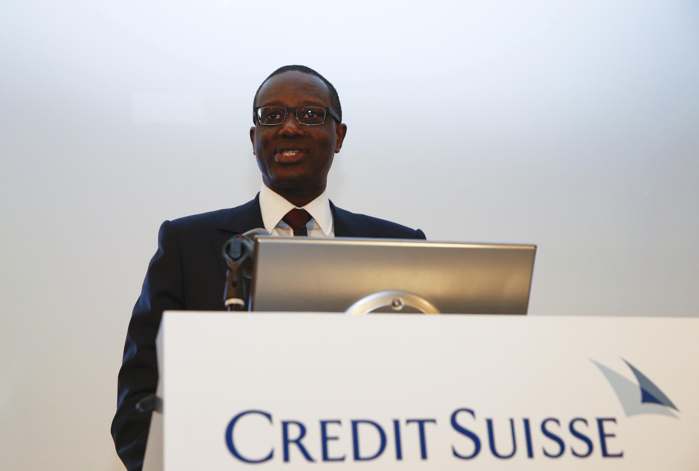 Tidjane Thiam foi nomeado o novo presidente-executivo do banco Crédit Suisse.