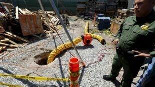 Se trata del más largo 'narcotúnel' descubierto entre ambos países.