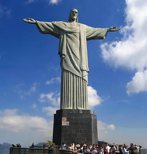 O Cristo Redentor, símbolo do Rio de Janeiro.