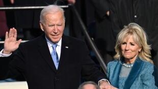 2021-01-20 united states joe biden president inauguration jill biden
