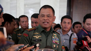 Le chef d'état-major indonésien, Gatot Nurmantyo, le 5 janvier 2017, à Jakarta.