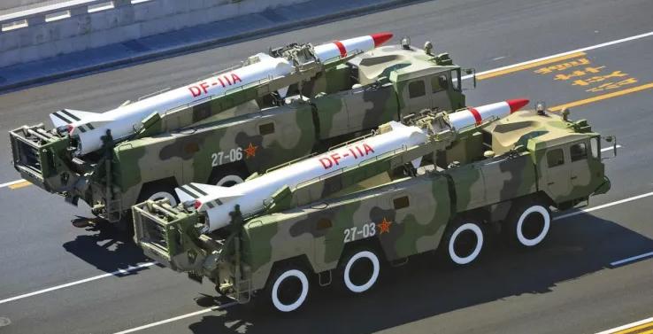 東風-11短程彈道導彈資料圖片