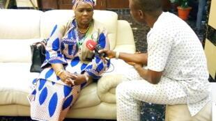Hajiya Halima Ahmed, Kwamishiniyar sashin kula da al'amuran siyasa, zaman lafiya da tsaro a kungiyar ECOWAS