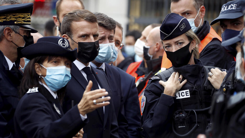 'We will not give in to terror', says Macron as security alert raised to highest