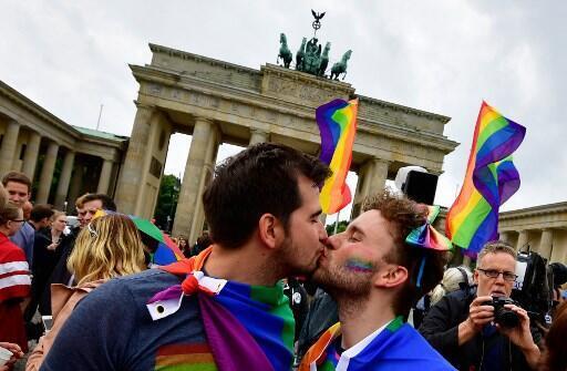 Alemanha legalizou o casamento entre pessoas do mesmo sexo em junho deste ano.