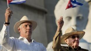 Cuba - Miguel Diaz-Canel  - Raul Castro