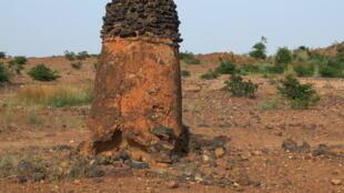 Fourneaux de Tiwêga, près de Kaya au Burkina Faso, un des cinq sites classés au Patrimoine mondial de l'Unesco.