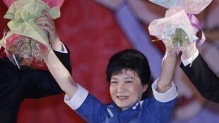 Park Geun Hye, nữ tổng thống đầu tiên của Hàn Quốc ?