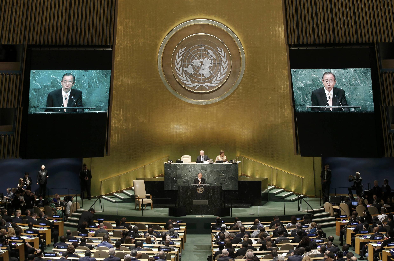 L'ouverture de la 71e sessions de l'Assemblée générale des Nations unies, en septembre 2016.