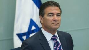 报道中提到的以色列摩萨德主管犹西·科恩资料图片