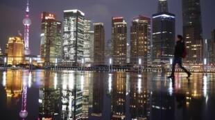Pudong, le quartier des affaires de Shangaï.