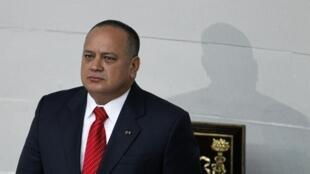 O presidente da Assembleia Nacional Venezuelana, Diosdado Cabello, em foto de arquivo.