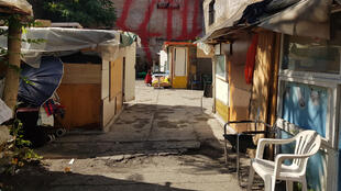 Un camp rom, en plein cœur de la ville éternelle.