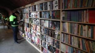 «Гарри Поттер», «Пятьдесят оттенков серого», романы Чарльза Диккенса и нобелевского лауреата Орхана Памука… Каждая из спасенных книг нашла свою полку.