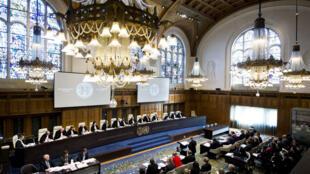 Ảnh minh họa : Cảnh một phiên họp của Tòa án Quốc tế ICJ tại La Haye, Hà Lan, năm 2019.