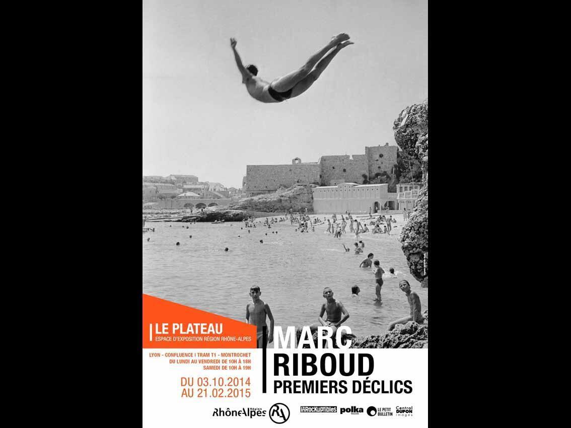 Affiche de l'exposition dédiée à Marc Riboud: «Premiers déclics».