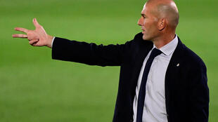 The promised hand: Real Madrid coach Zinedine Zidane is on the cusp of has warned his players not to rest on their laurels