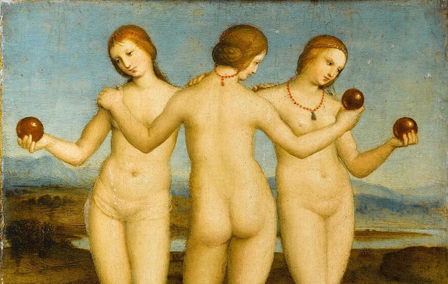Les-Trois-Graces-Raphael OK