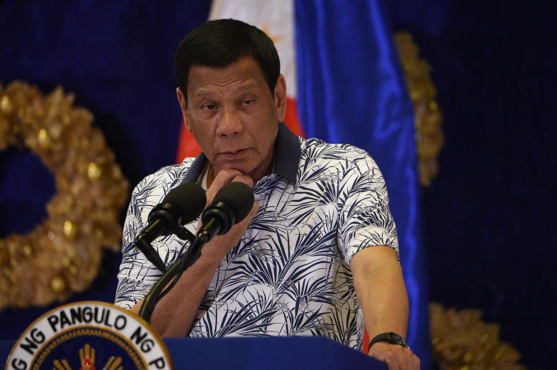 O presidente das Filipinas, Rodrigo Duterte, é conhecido por suas declarações polêmicas.