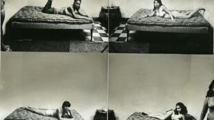 Serie 'Prostitutas', 1970-1972 (collage). Impresión de época, gelatino-argéntica, 21,9 x 23,5 cm. Colección privada, París.