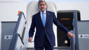 Waziri wa Mambo ya nje wa Marekani, John Kerry, anayefanya ziara nchini Kenya
