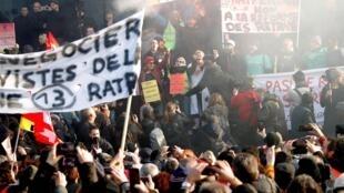 Deux nouvelles journées de manifestation sont prévues les 9 et 11 janvier.