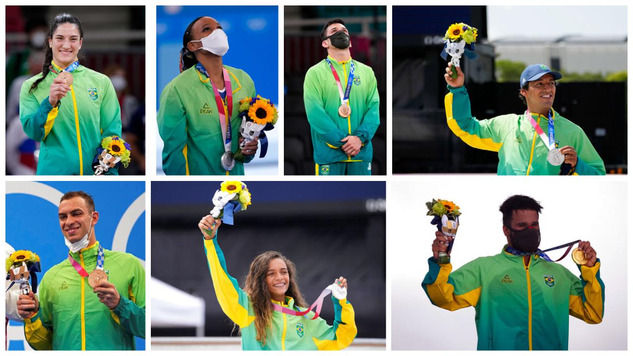 Medalhas Brasil