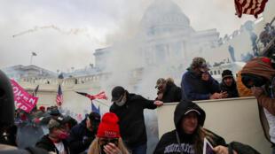 USA - manifestations - Capitol - 6/01/2021.
