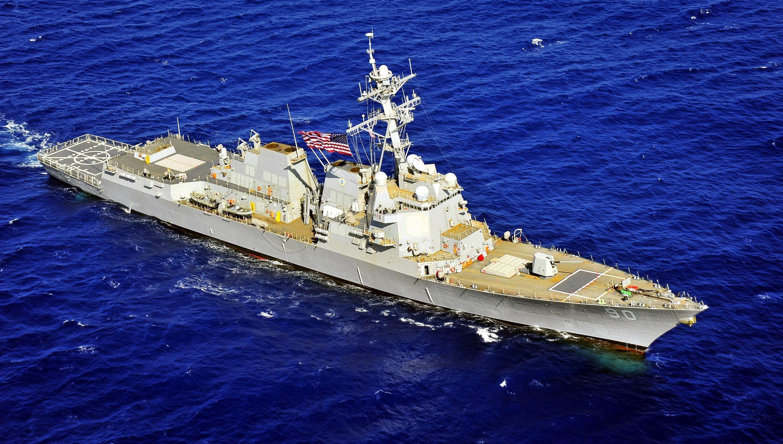 Tầu khu trục USS Chafee.