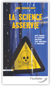 Couverture de l'ouvrage «La Science asservie» de Annie Thébaud-Mony.