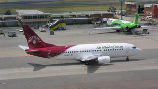 Un Boeing 737 de la compagnie Air Madagascar.
